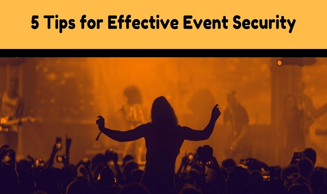 Tips for Effective Event Security in Los Angeles